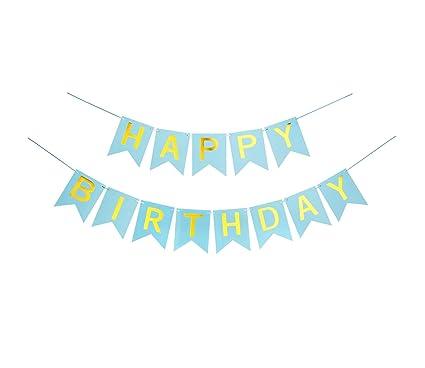 Amazon.com: Banderines florales de papel para cumpleaños ...