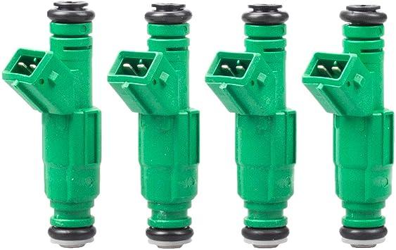 42LB 440cc EV1 New Green Fuel Injector Ersetzen 0280155968 0 280 155 968 4 MOSTPLUS Set