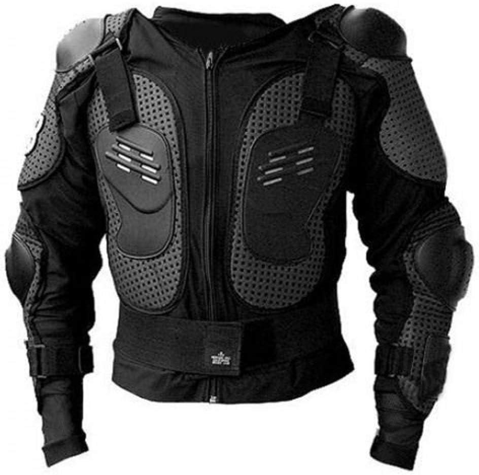 Hukitech Protektorenjacke Brustpanzer Rückenprotektor Größe Xs Schutzausrüstung Für Fahrrad Bike Quad Motocross Motorrad Protektor Protektoren Motorrad Jacke Motorradjacke Auto