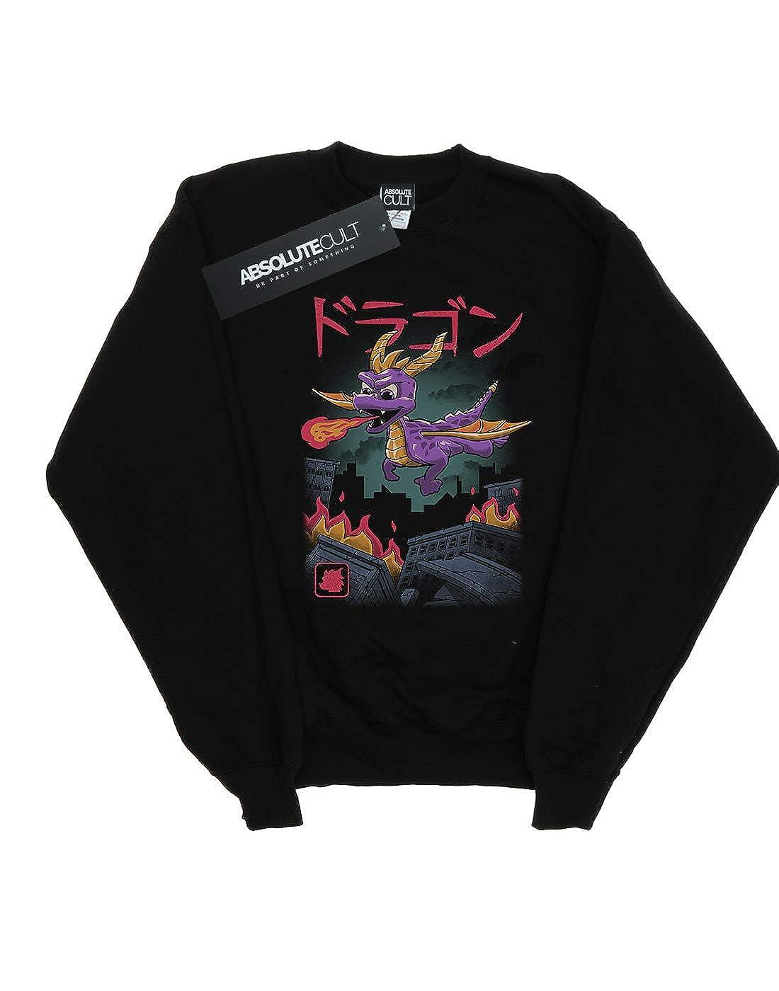 Vincent Trinidad Girls Dragon Kaiju Sweatshirt
