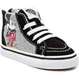 c1088f16d4d Vans Disney Authentic Minnie s Bow Toddlers Red Sneakers
