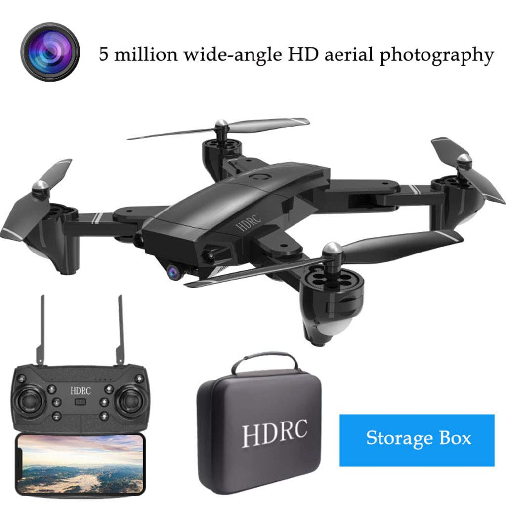 Dkings H13 Drohne mit HD 5MP 1080P WiFi Kamera Quadrocopter Weißwinkel 2,4 G, FPV Folding RC Hubschrauber Selfie Drohne, 4-Kanal Quadcopter, 360 ° Flips LED Headless-Modus, GPS-Satellit