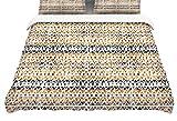 Kess InHouse Li Zamperini Africa Brown Tribal Twin Cotton Duvet Cover, 68 by 88-Inch