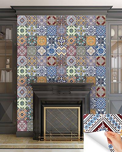 Mi Alma Backsplash Tile Stickers 24 Pc Set Authentic