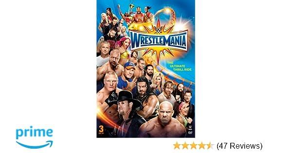 Amazon com: WWE: WrestleMania 33: Roman Reigns, The Undertaker