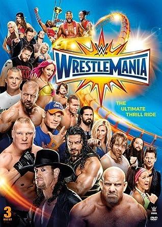 Wwe: Wrestlemania 33 Edizione: Stati Uniti Italia DVD: Amazon.es: Cine y Series TV