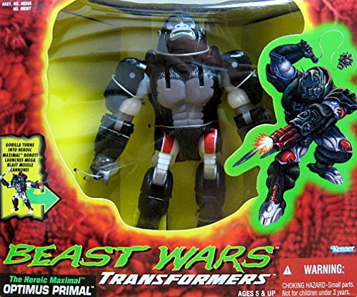 Beast Wars Transformers The Heroic Maximal Optimus Primal