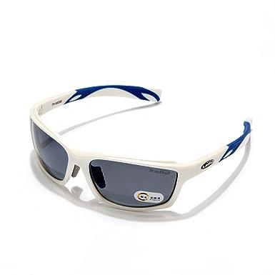 e6b56c0e0d4 White Polarized Designer Fashion Sports Sunglasses for Baseball Cycling  Fishing Golf