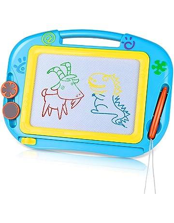 TTMOW Pizarras Mágicas Colorido con Pluma, Almohadilla Borrable de Escritura y Dibujo, Juguetes Educativos