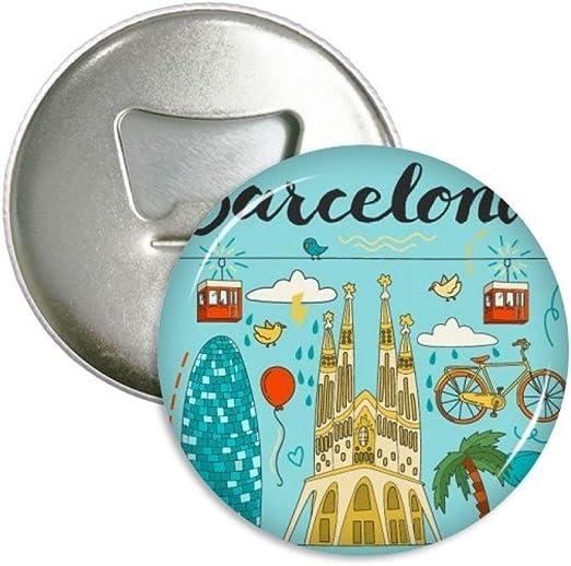 Barcelona España sagrada familia redondo abridor de botellas ...