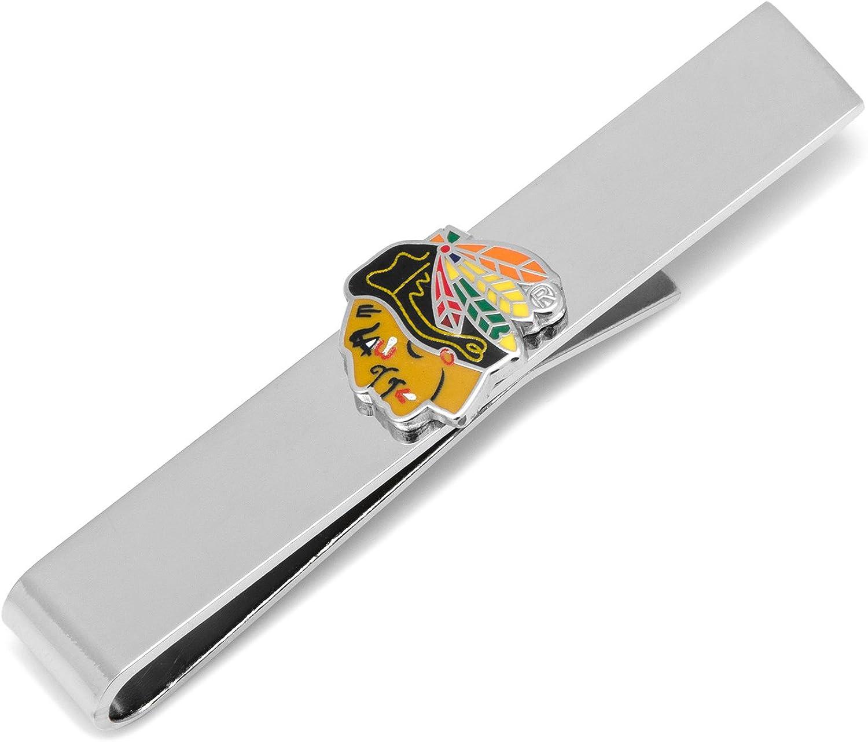 NHL Chicago Blackhawks Tie Bar, Officially Licensed
