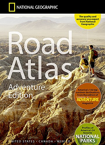 National Geographic Road Atlas - Adventure Edition