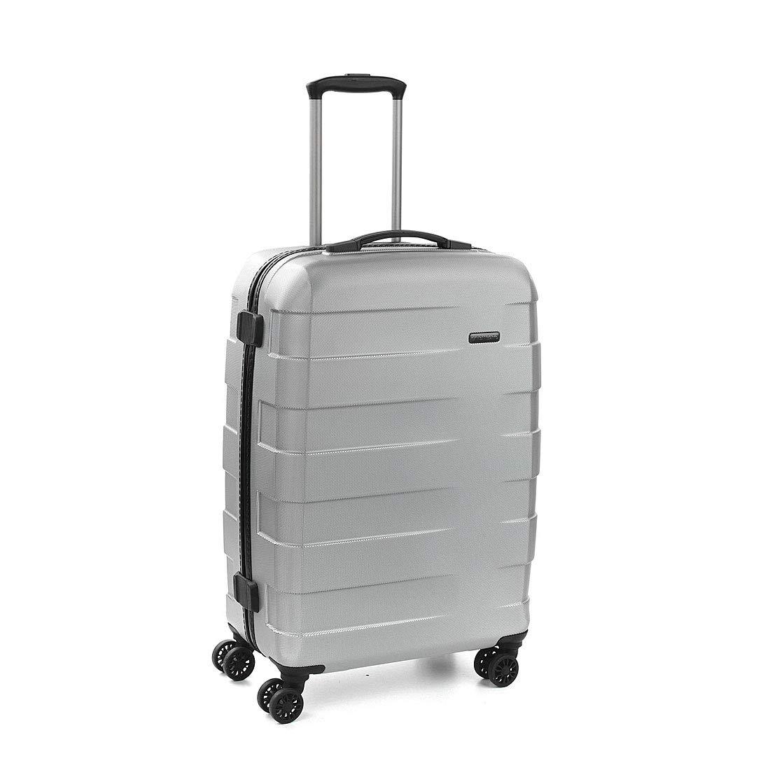 [RONCATO(ロンカート)] スーツケース RV-18 68L 60cm 2.8kg 5802 B07JGRPR3H シルバー