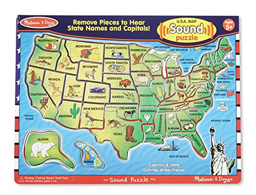 Usa Map Puzzle With Sound: Usa Map Puzzle With Sound At Infoasik.co