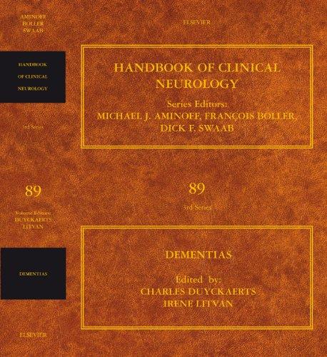 Dementias: Handbook of Clinical Neurology (Series Editors: Aminoff, Boller and Swaab) Pdf
