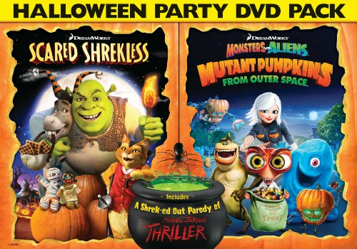 DreamWorks Halloween Double Pack (Scared Shrekless / Monsters vs Aliens: Mutant Pumpkins From Outer Space) for $<!--$44.75-->