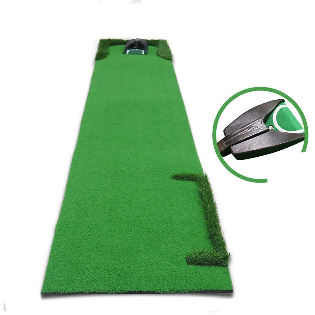 自動ボールリターン装置トレーニングとゴルフマット練習パッド練習室内&屋外ゴルフパットマット B07MHRLMHP