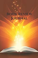 Book Review Journal: A Reading Log for Middle Grade and Young Adult (The Book Review Journal Series) Paperback