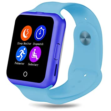Fitness tracker dactivité, Qimaoo Bluetooth poignet montre intelligente avec moniteur de fréquence cardiaque