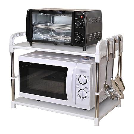 LIANGJUN especiero Estante De Cocina Metal El Plastico Estante ...