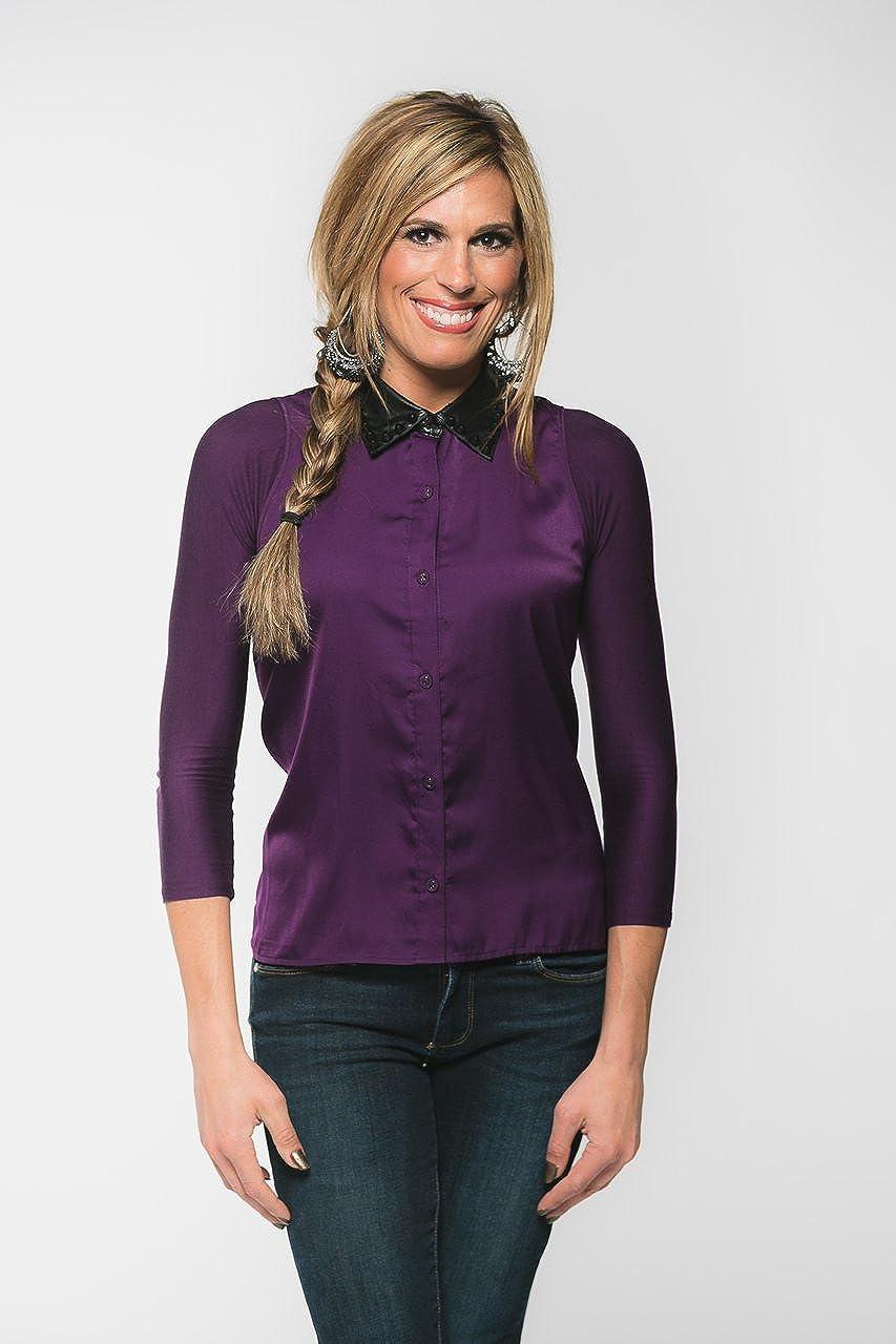 Sleevey Wonders Womens Basic 3//4 Length Slip-on Jersey Sleeves