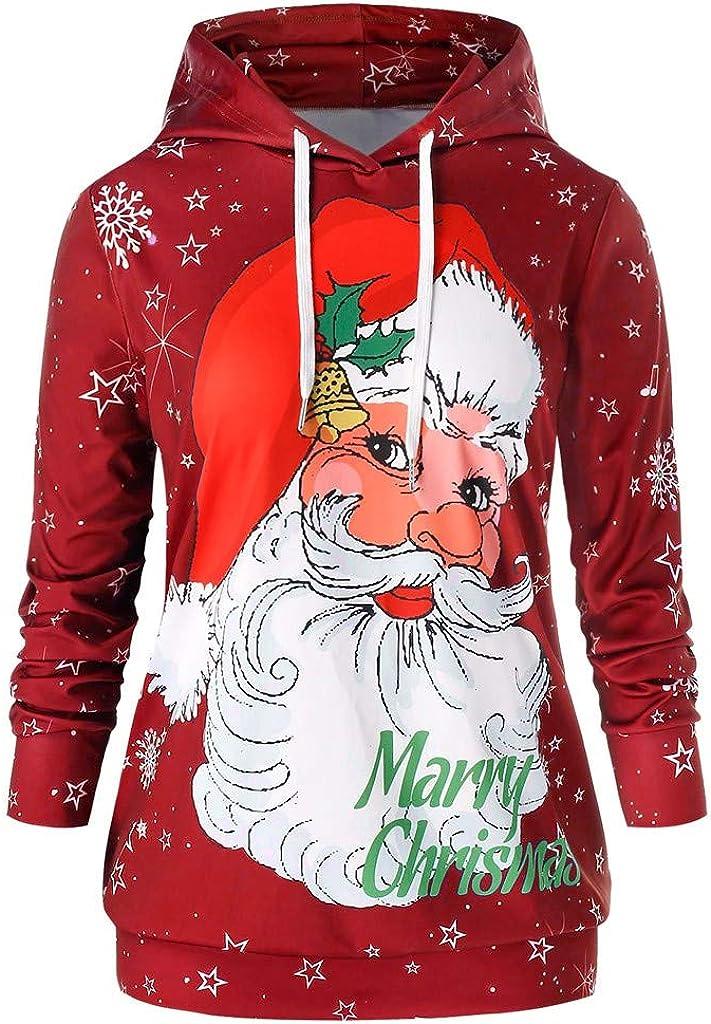 FDelinK Unisex 3D Christmas...
