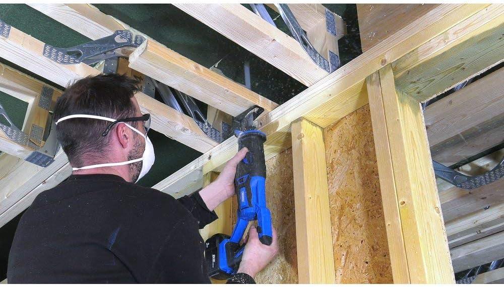 Draper 55561 D20 20V Brushless Reciprocating Saw-Bare 20 V