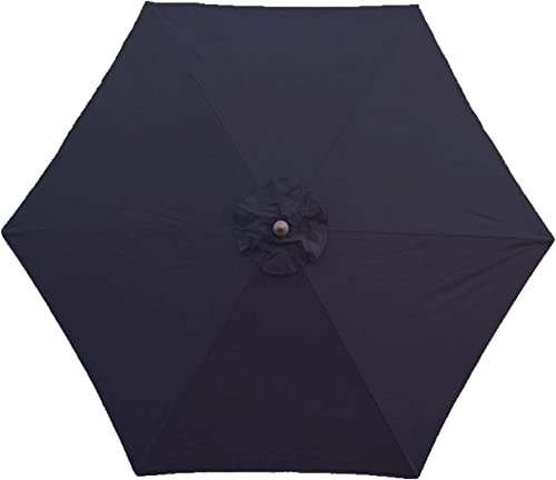 Formosa Covers 9ft Umbrella Replacement Canopy 6 Rib