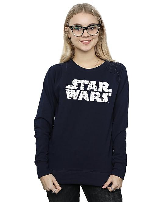 Star Wars mujer Christmas Logo Camisa De Entrenamiento: Amazon.es: Ropa y accesorios