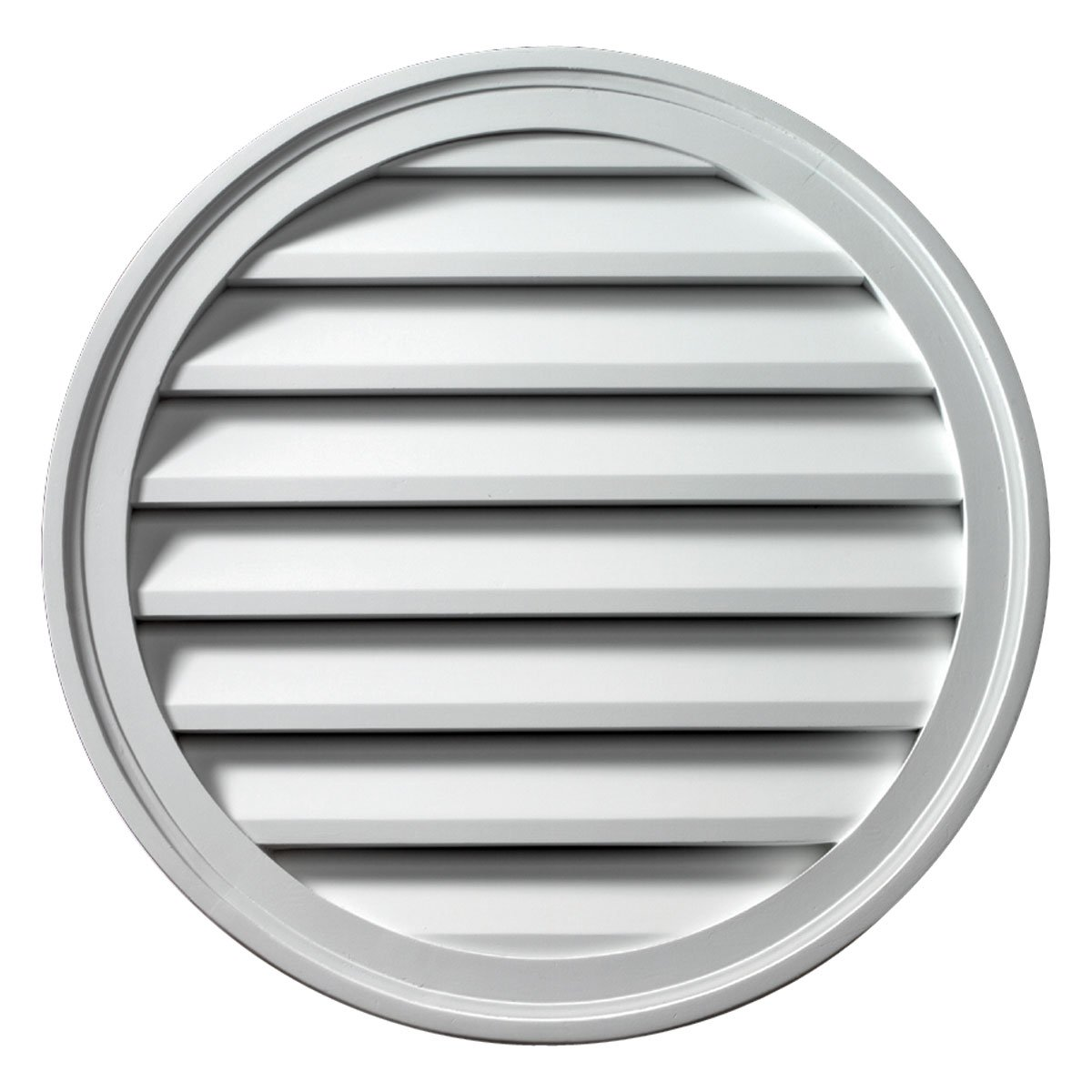 Fypon FRLV42 42''W x 42''H Round Functional Louver
