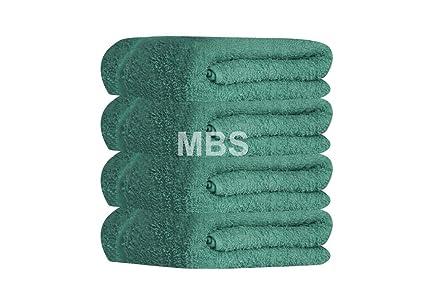 MBS 6 Toallas de baño de 100% algodón, tamaño Grande, 100 x 210
