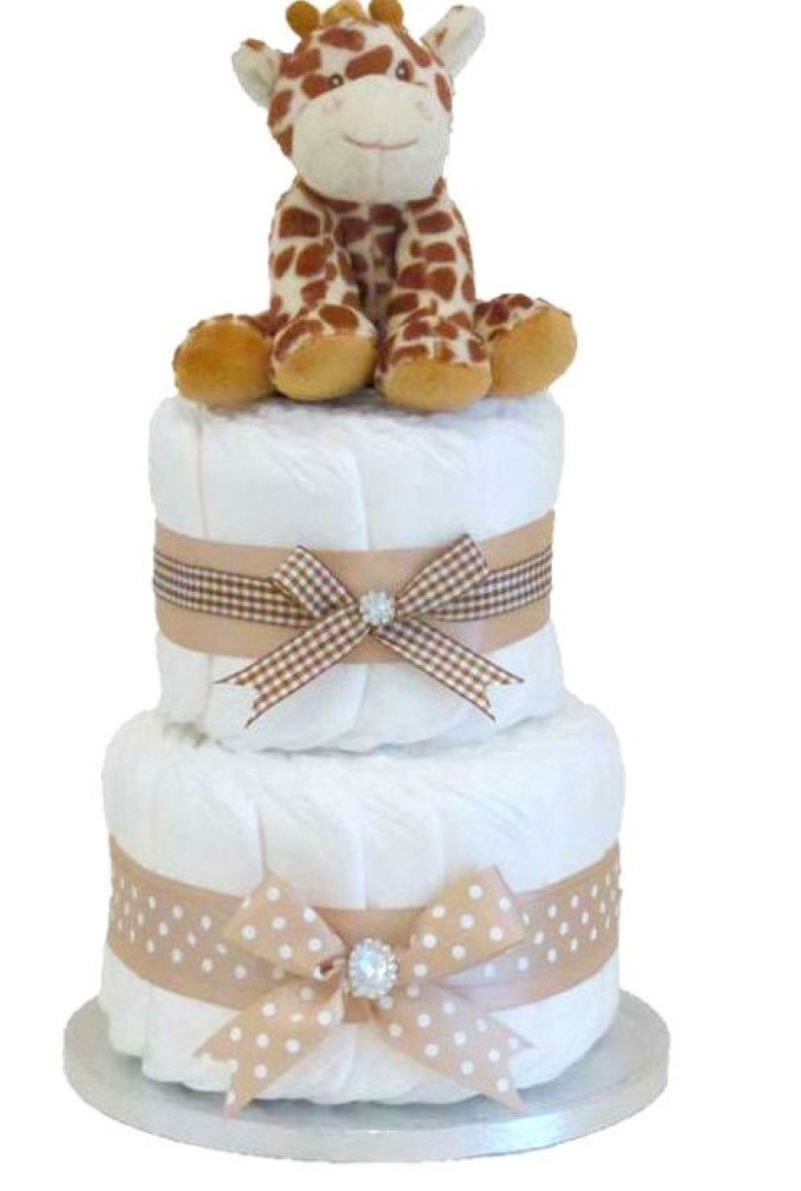 Signature Giraffe - Cesta de regalo unisex para niños o niñas/baby ...