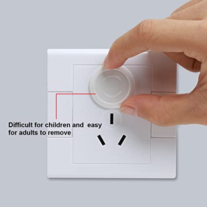 36 Pack Power Socket Outlet Plug Protective Cover for Baby Child Safety Electrical Security Lock Protector RLdaffodil