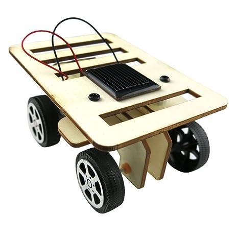 De Pasatiempo Solar Divertidoa Diy Tianranrt Tecnología Gadget Energía Pequeño Coche Juguete Kit Educativo Mini Niños Con qUSMpzV