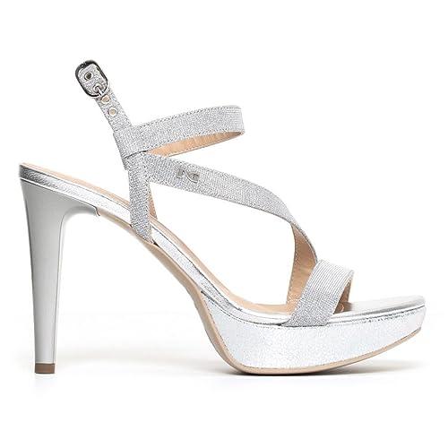 Nero Giardini scarpa sandalo donna art. P806070DE col. ghiaccio