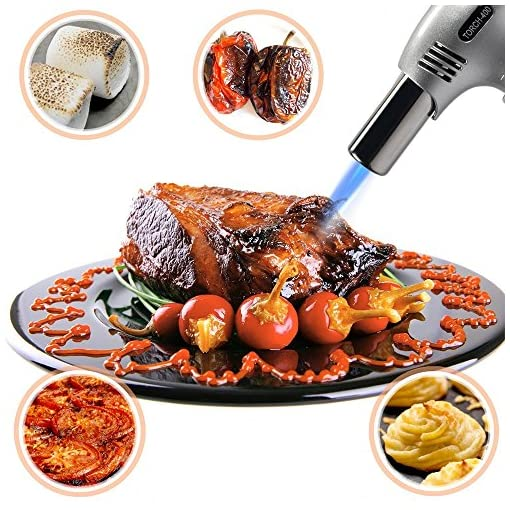 Butane Torch Kitchen Torch Refillable Cooking Torch