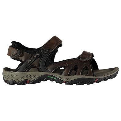 31a20d8054fe Karrimor Mens Perth Walking Sandals Hook and Loop Brown UK 8 (42)  Amazon.co.uk   Shoes   Bags