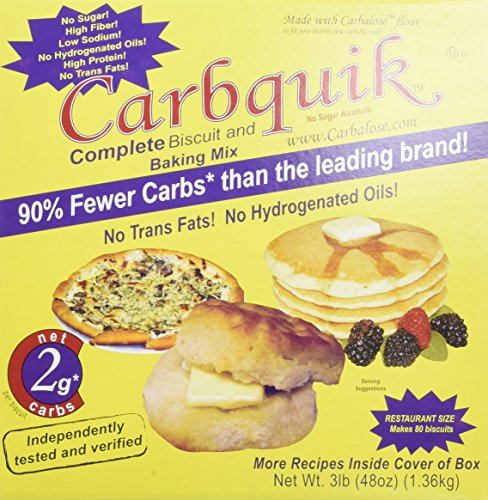 Low Carb Flour - Carbquik Baking Mix, 3 Lbs (2 Pack)