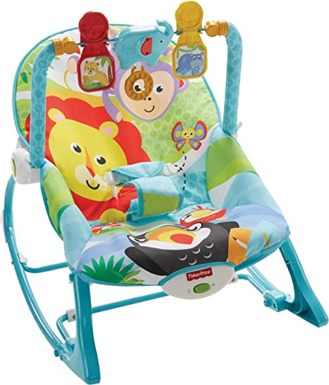 106d63caa Fisher Price Silla Mecedora Infantil Crece Conmigo: Amazon.com.mx: Bebé