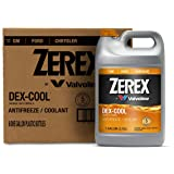 Zerex DEX-COOL Antifreeze/Coolant, Concentrated - 1gal (Case of 6) (ZXEL1-6PK)