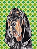 Caroline's Treasures SC9567CHF Coonhound St. Patrick's Irish Flag Canvas, Large, Multicolor For Sale