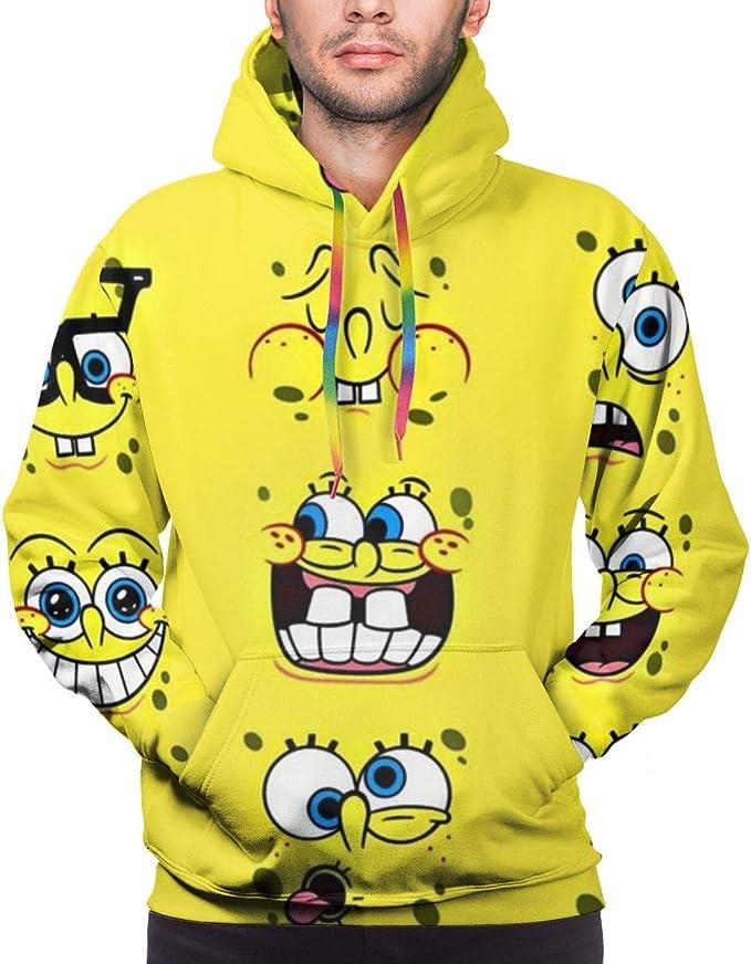 Spongebob Squarepants Hoodie Unisex 3D All-Over Printed ...