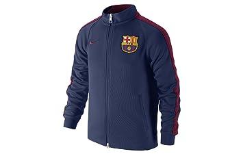 2014-2015 Barcelona Nike Authentic N98 Jacket (Navy) - Kids 8b859fcd9
