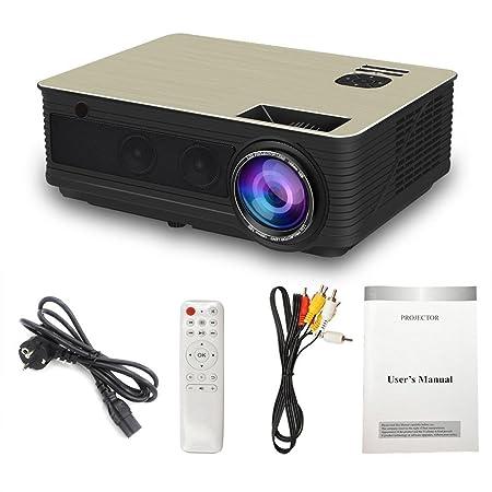 iBàste M5 LCD Mini proyector 3000 lúmenes - Proyector portátil ...
