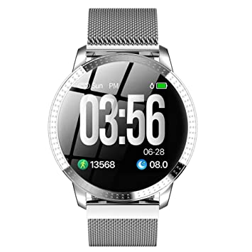 annotebestus CF18 Fitness Tracker Smartwatch, Reloj ...
