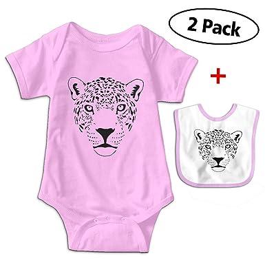 timeless design bafa0 120cf Baby Jaguar Cougar Cat Puma Panther Leopard Short Sleeve Bodysuit Baby  Onesie for 0-24
