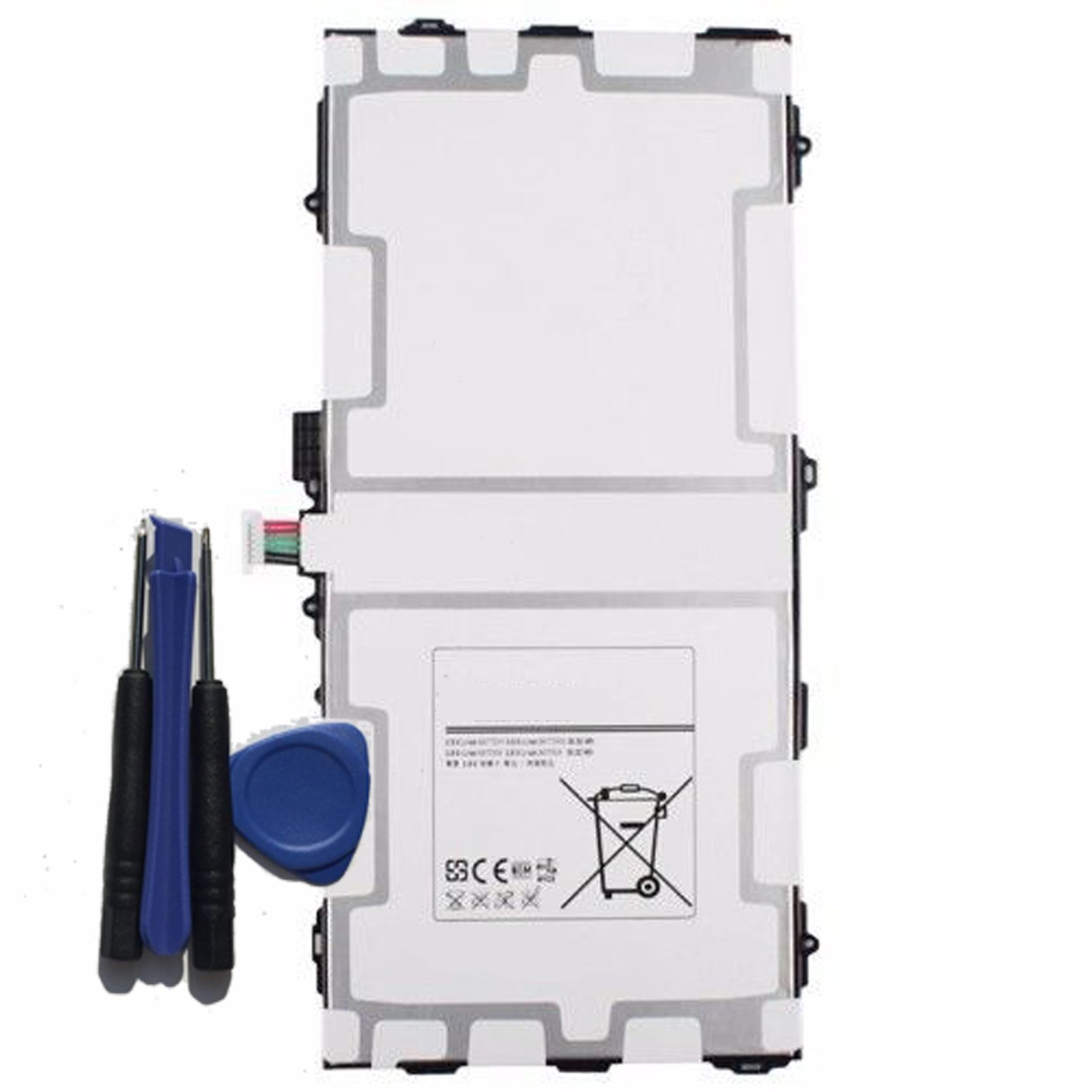 Etechpower replacement EB-BT800FBU Battery for Samsung Galaxy TAB S 10.5 LTE SM-T800 SM-T801 SM-T805 SM-T807 SM-T807A SM-T807P Series Tablet EB-BT800FBJ EB-BT800FBC EB-BT800FBE 3.8V 7900mAh