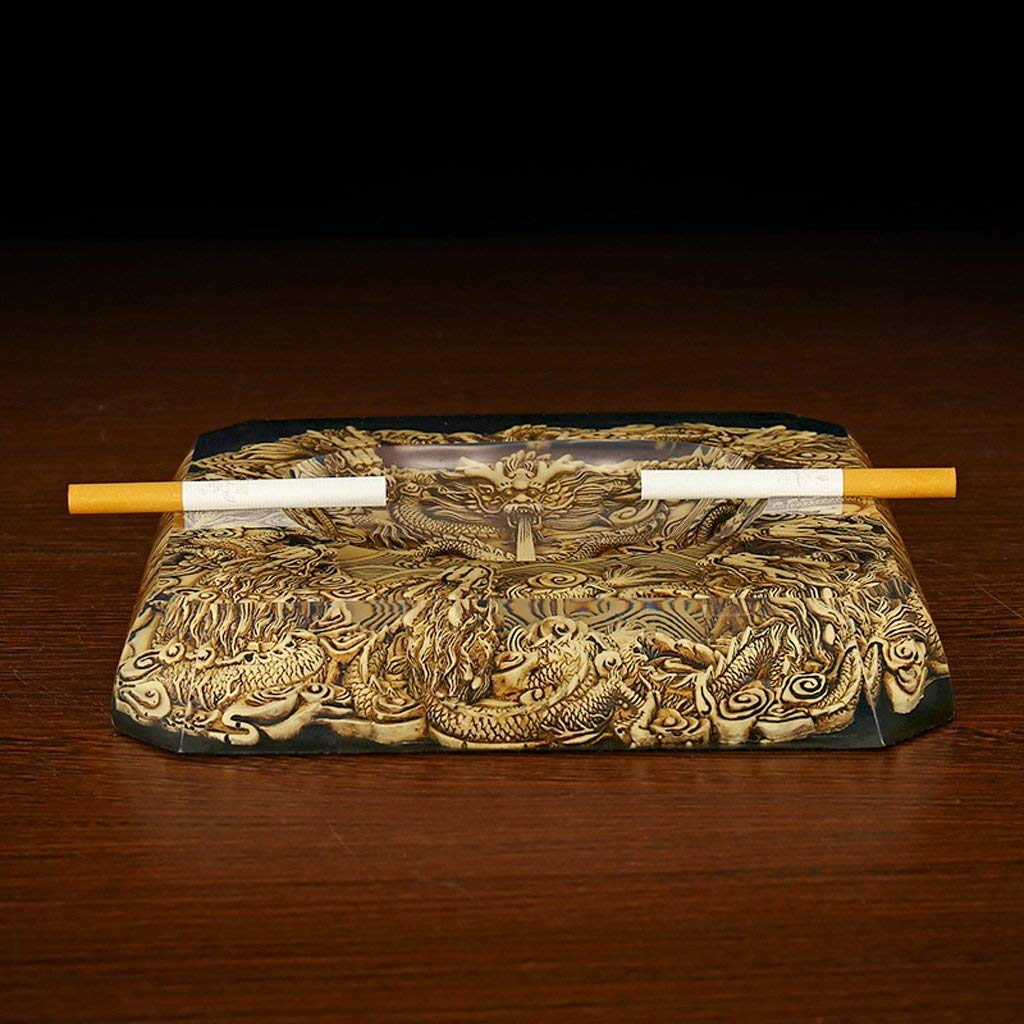ZHJYHG Accesorios para Fumar/Cenicero Personalizado Cristal ...