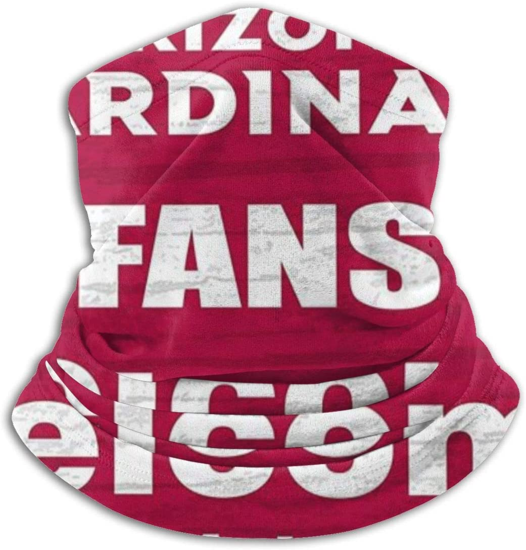 Running Running UV Protection Neck Warmer Cover Head Wrap Sunscreen Face Cover Beanie Hat for Men Women NiYoung Bandanas Face Mask Arizona Cardinals Football Logo Balaclava