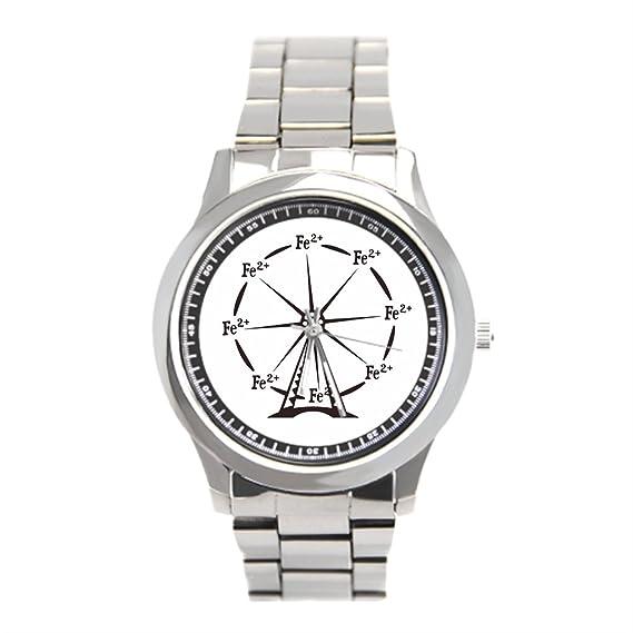 momoc barato Relojes de pulsera. Farmacia Carnaval reloj de pulsera de acero inoxidable